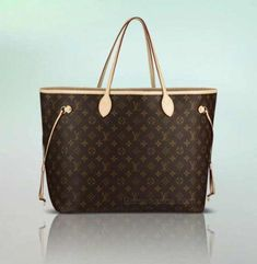 c946bc362bc5 Owned  Neverfull GM - My first LV piece which I originally purchased in  damier ebene in Paris but the leather around the top cracked 3 days later  so I ...