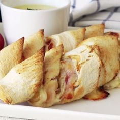Buttery rolls of bread stuffed with bacon and cheese will be your new favorite snack.