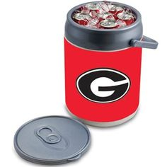 I know my Hubby would love this! Georgia Bulldogs Can Cooler  #ultimate tailgate  #fanatics