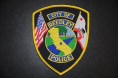 Reedley Police Patch, Fresno County, California