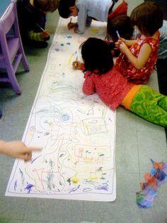 Doodling... #GaleriAkal Untuk berbagi ide dan kreasi seru si Kecil lainnya, yuk kunjungi website Galeri Akal di www.galeriakal.com Mam!