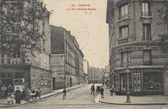 PANTIN - rue charles nodier