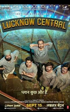 Lucknow Central on 15th September  17 dir  writer  Ranjit Tiwari  starring Farhan Akhtar Diana Penty  Gippy Grewal  Inaamulhaq Music  Tanishq Bagchi Rochak Kohli
