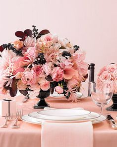 Wedding, Reception, White, Pink, Ceremony, Centerpiece, Black, Inspiration board