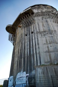 Flak Towers – Legacy of the Luftwaffe ~ Kuriositas Ligne Siegfried, Arms Warrior, Flak Tower, Bunker Hill Los Angeles, Bunker Hill Monument, Doomsday Bunker, Concrete Structure, Berlin, Fortification