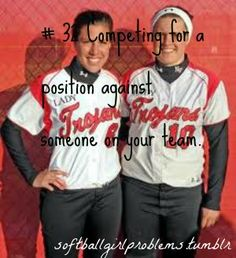 Yup... competing against a Junior as a Freshman for the shortstop position in Varsity... FUN!!! -_-