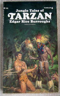 Edgar Rice Burroughs Jungle Tales of Tarzan PB Ballantine 01596 Book 6
