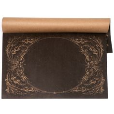 Archival Italian Scroll Paper Placemats #laylagrayce