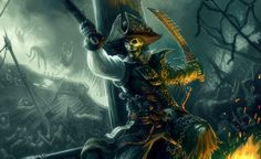 Video Game Pirates Of The Caribbean Wallpaper
