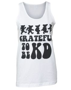 Kappa Delta Grateful Tank - would be cuter with color