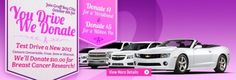 Your Drive We Donate Events from Graff Chevrolet #BreastCancer