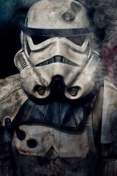 Amazing concept art for a Star Wars Stormtrooper. Star Wars Fan Art, Star Wars Film, Bd Star Wars, Star Trek, Star Wars Poster, Lego Star Wars, Star Wars Tattoo, Images Star Wars, Star Wars Wallpaper