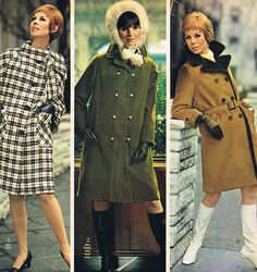 Spiegel 1968- i would give anything to have that first black and white coat!!!