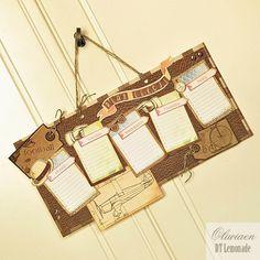 CraftHobby Oliwiaen: School Timetable. Plan lekcji