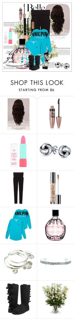 """""""School Outfits"""" by schooloutfits101 on Polyvore featuring WigYouUp, Maybelline, Rimmel, Bling Jewelry, Victoria's Secret, Urban Decay, Victoria's Secret PINK, Jimmy Choo, Vera Bradley and Kate Marie"""