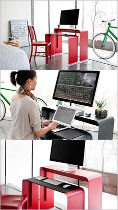 A Highly Practical Nesting Desk