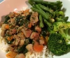 Thai Stirfry - Chicken, Chilli and Basil   Official Thermomix Recipe Community #Thermomix #Varoma