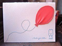 February's handmade birthday cards