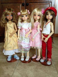 Kaye's Girls Hope, Nyssa elf, Laryssa and Nyssa