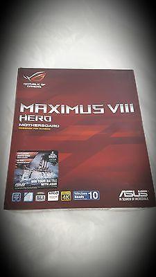 41671 computer-parts NEW - ASUS ROG MAXIMUS VIII HERO LGA 1151 Intel Z170 HDMI SATA 6Gb/s USB 3.1 ATX  BUY IT NOW ONLY  $226.99 NEW - ASUS ROG MAXIMUS VIII HERO LGA 1151 Intel Z170 HDMI SATA 6Gb/s USB 3.1 ATX...