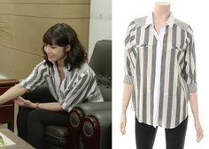 "Jung Eun-Ji in ""Trot Lovers"" Episode 9.  VOV 7114260020 Shirt #Kdrama #TrotLovers #트로트의연인 #JungEunJi #정은지"