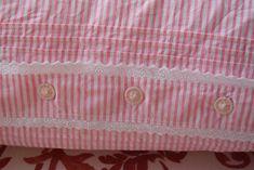 French Pillowcase Antique Linen Pink Striped Lace Handmade Bedding Pillow Sham Pillow Case Romantic Home Decor Handmade Bedding, Handmade Home Decor, Handmade Pillows, Romantic Home Decor, Romantic Homes, Master Suite, Pillow Shams, Pillow Cases, Bed Linen Inspiration