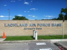 Lackland Air Force Base in Lackland Air Force Base, TX, where my son went to bootcamp