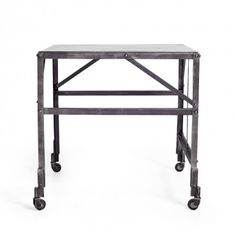 Ralph Lauren Home Brewery Iron Side Table #abcDreamSpace