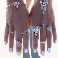 $1.62 Women's Silver Bracelet Cute Elephant Totem Posh Special Design - BornPrettyStore.com. Use my 10% off code PQL91