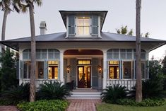Love the entire house!  Located near Bluffton, South Carolina, the cottage at Palmetto Bluff was decorated by Ruthie Edwards out of Hilton Head, SC