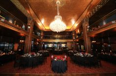 Gorgeous Reception at the Cicada Club!