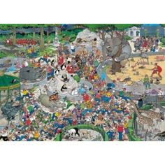 1000 Piece, Jan Van Haasteren Artist: Jigsaw Puzzles Direct - Jigsaw Puzzles Direct - A huge range of jigsaws, jigsaw puzzles, speciality puzzles and accessories for all ages that you can buy online. Jigsaw Puzzles, Van, Artist, Painting, Pretty Pictures, Vans, Painting Art, Paintings, Puzzles