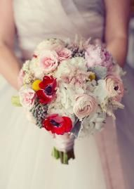 Beautiful, whimsical bouquet by Bridal Blooms in the Emily Clarke Events tabletop featured in the Fall/Winter 2012 Brides of North Texas issue! Photo by Sarah Kate, Photographer #wedding #bridal #bouquet #whimsical