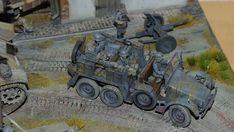 "Krupp Protze ""Kfz.69 Zugwagen für 3,7-cm-PaK 36"" Cannon, Scale Models, Modeling, Miniatures, Military, Wood, Dioramas, Locomotive, Model Building"