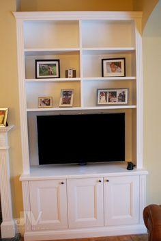 23 Alcove Shelving Ideas for your Living room | JV Carpentry Alcove Bookshelves, Alcove Shelving, Wall Shelving Units, Shelving Design, Shelving Ideas, Alcove Storage Living Room, Living Room Shelves, Making Shelves, Alcove Cabinets