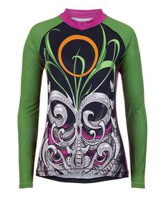 Another great find on #zulily! Green Biogarden Long-Sleeve Tri-Pocket Jersey #zulilyfinds