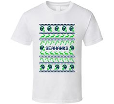 Seahawks Football Ugly Christmas Sweater T Shirt - Seattle Seahawks Team Colors #SeattleSeahawks,#Seattle,#Seahawks,#Christmas,#UglySweater,#Football,#Gift,#FootballSweater,#SeahawksSweater