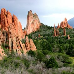 Garden of The Gods. Beautiful park, my husband and I used to go here all the time when we were stationed at Fort Carson.