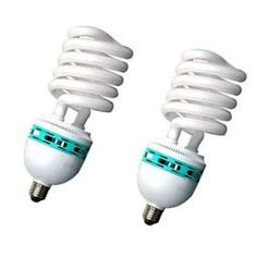 One of the highest wattage self ballasted lamp on the market today. Compact fluorescent light bulbs use upto 75% less energy and last up to 10 times longer than the standard light bulb.