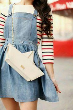 Paper boat purse