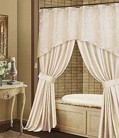Nice Bathtub Curtains With Valance