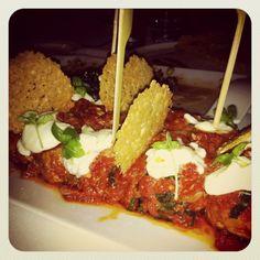 Veal Meatbaals and Mozzarella  www.ristoranteooto.com Mozzarella, Beef, Food, Meal, Essen, Hoods, Ox, Meals, Eten