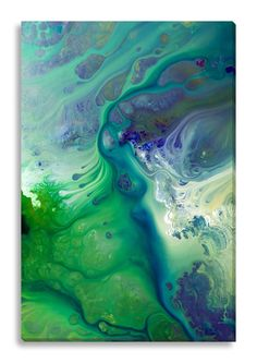 Gallery Direct Abstract River of Dreams I by Lisa Fabian Graphic Art on Wrapped Canvas & Reviews | Wayfair
