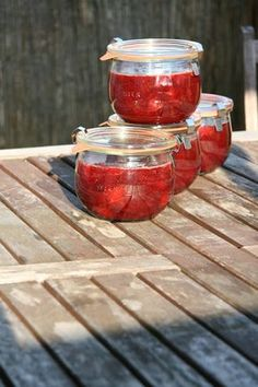 Dżem agrestowo-truskawkowy