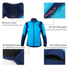 Cycling Underwear, Round Collar, Motorcycle Jacket, Zipper, Pocket, Fitness, Fashion, Moda, Fashion Styles