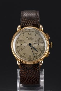 Vintage Breitling men's watch, Chronograph, 1945-47