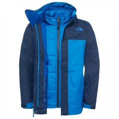 The North Face - Boy's Boundary TriClimate Jacket | Versandkostenfrei | Bergfreunde.de