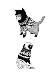 Cute, and I <3 the illustration style.