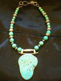 Gorgeous Handmade Turquoise Necklace
