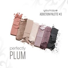 Long-wearing, crease-resistant, addictive  Create sultry, dynamic, and bold looks with colors you'll crave. Palettes 1 though 4 boast seven matte, pearl, and shimmer finishes. The new Palette 4 is filled with earthy browns and blues, and the one-of-a-kind Palette 5, new and different from any other palette, offers reflective metallic and transforming, prismatic jewel tones.